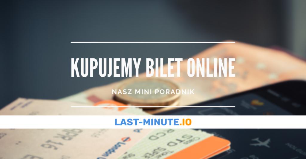 kupujemy bilet lotniczy online - poradnik